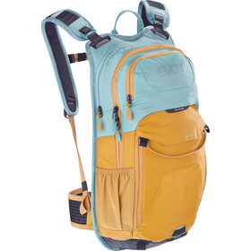 EVOC Stage Mochila Technical Performance 12 Litros, aqua blue/loam